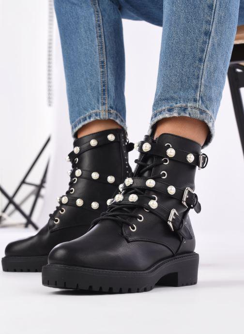 Bottines et boots Bullboxer 031500F6S Noir vue bas / vue portée sac