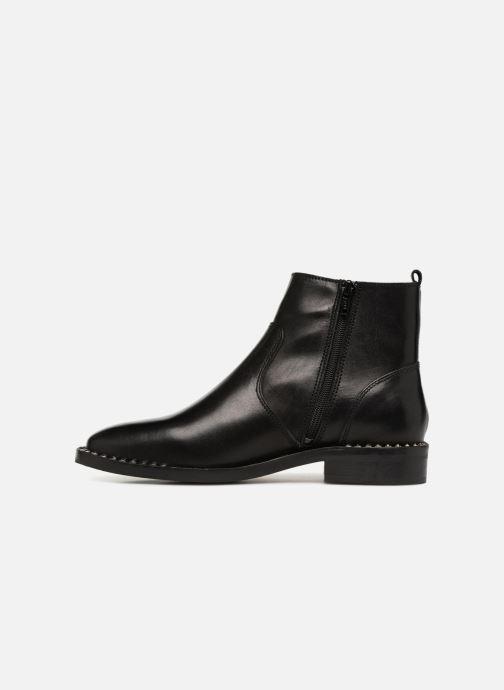 Boots en enkellaarsjes Bullboxer 394505E6L Zwart voorkant
