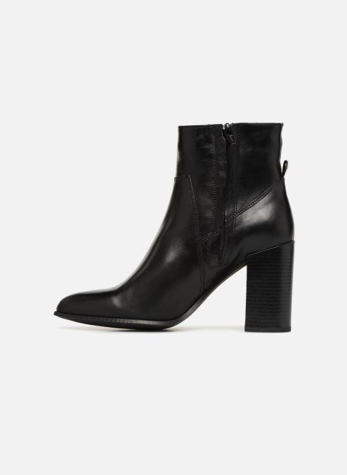Boots en enkellaarsjes Bullboxer 381500E6L Zwart voorkant