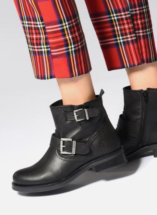 Bottines et boots Bullboxer 434561E6L Noir vue bas / vue portée sac