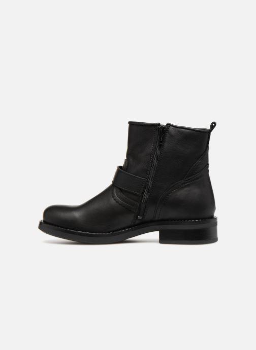 Boots en enkellaarsjes Bullboxer 434561E6L Zwart voorkant