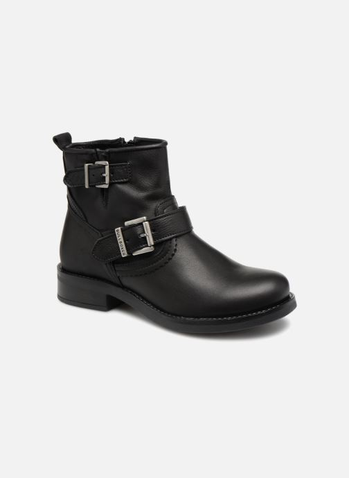 Boots en enkellaarsjes Bullboxer 434561E6L Zwart detail