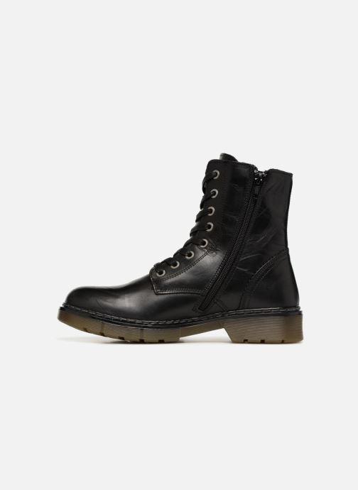 Boots en enkellaarsjes Bullboxer 875M82701G Zwart voorkant