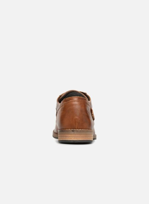 Zapatos con cordones Bullboxer 773K26911A Marrón vista lateral derecha