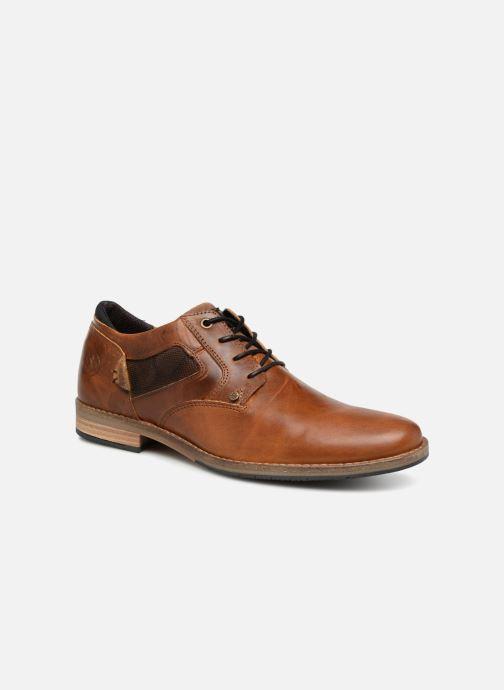 Chaussures à lacets Bullboxer 773K26911A Marron vue détail/paire