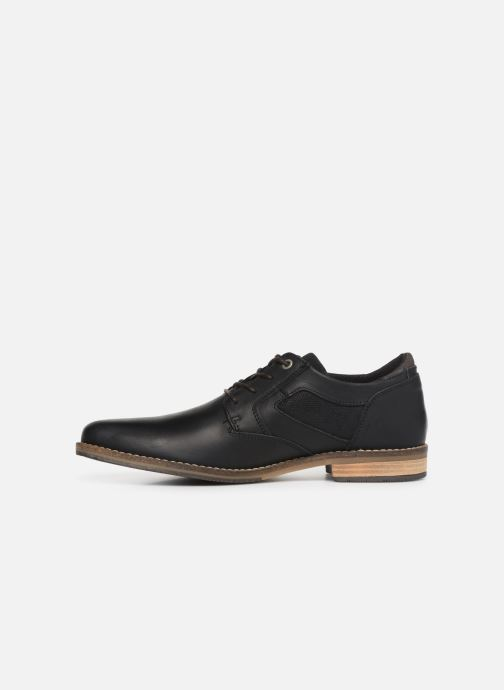 Chaussures à lacets Bullboxer 773K26911A Noir vue face