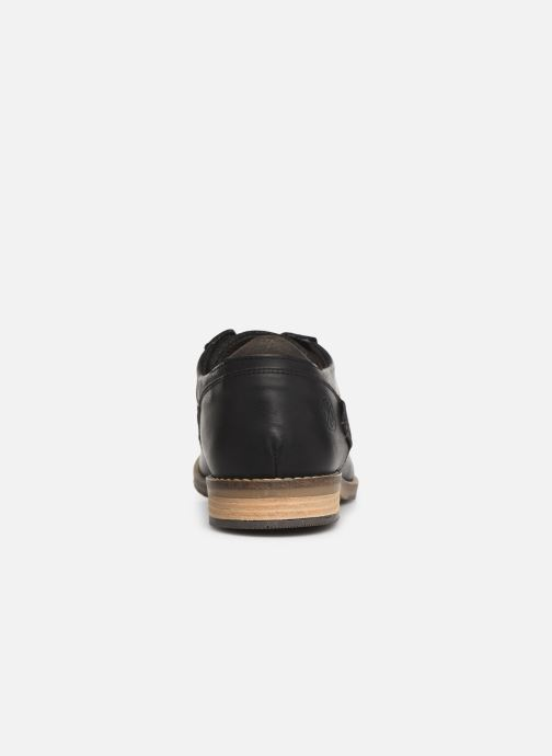 Lace-up shoes Bullboxer 773K26911A Black view from the right