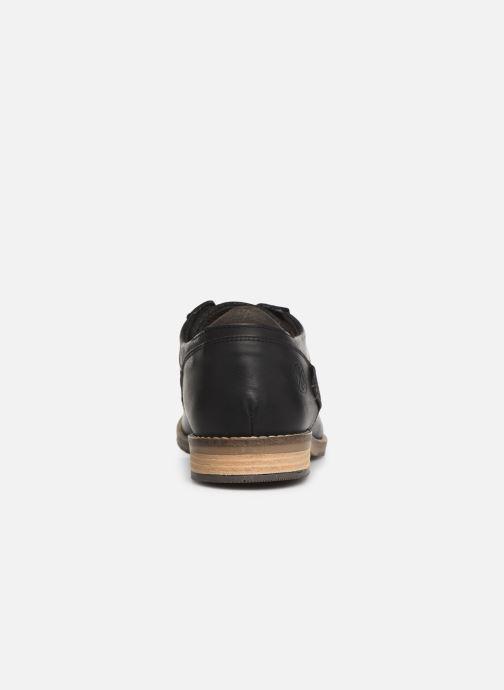Chaussures à lacets Bullboxer 773K26911A Noir vue droite