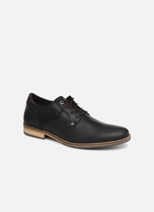 Lace-up shoes Bullboxer 773K26911A Black detailed view/ Pair view