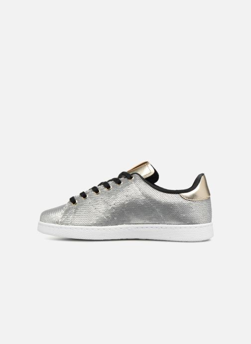 Trainers Victoria Deportivo Lentejuelas Silver front view