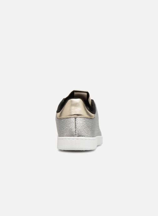 Trainers Victoria Deportivo Lentejuelas Silver view from the right