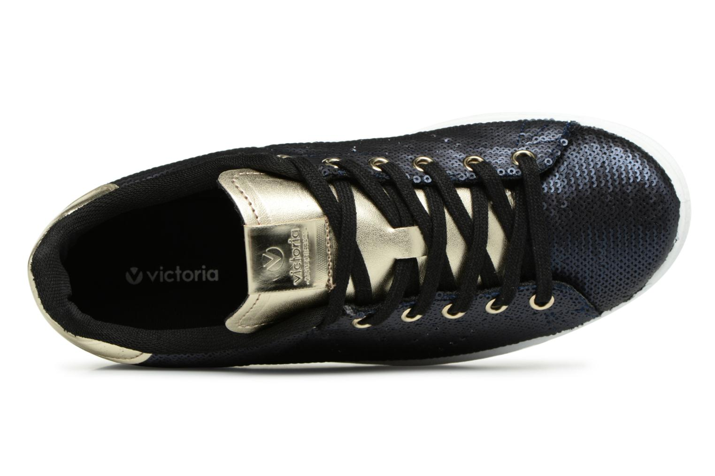 Sneakers Victoria Deportivo Lentejuelas Blauw links