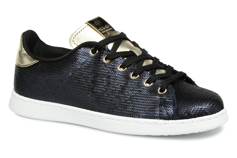 Sneakers Victoria Deportivo Lentejuelas Blauw detail
