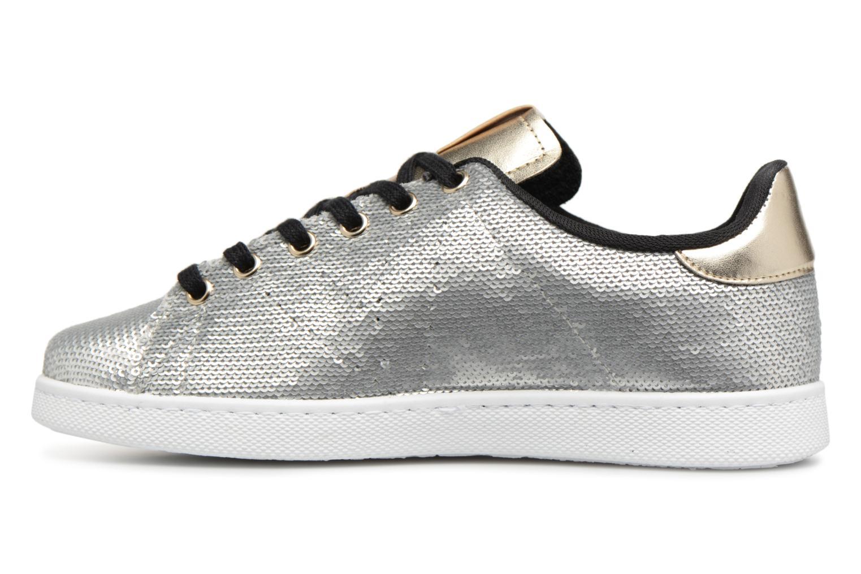Sneakers Victoria Deportivo Lentejuelas Zilver voorkant