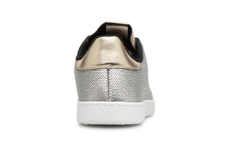 Sneakers Victoria Deportivo Lentejuelas Zilver rechts