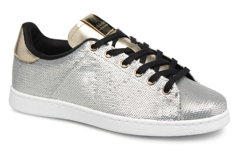 Sneakers Victoria Deportivo Lentejuelas Zilver detail
