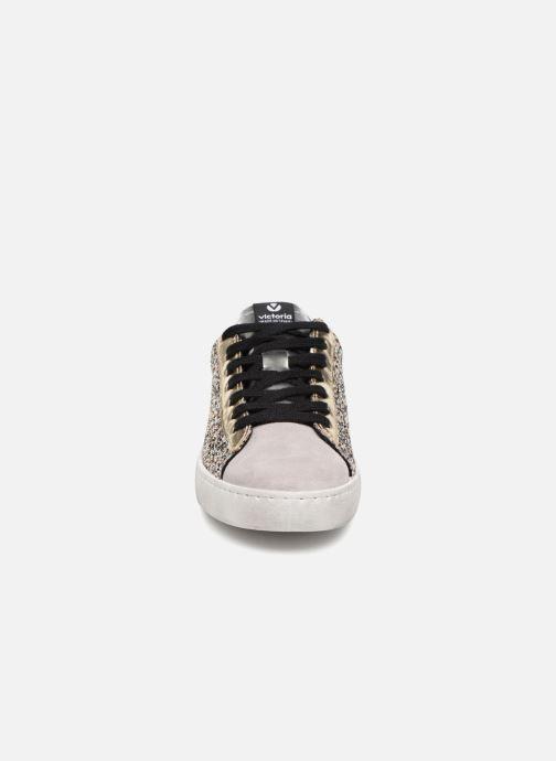 Sneakers Victoria Deportivo Glitter Contraste Zilver model