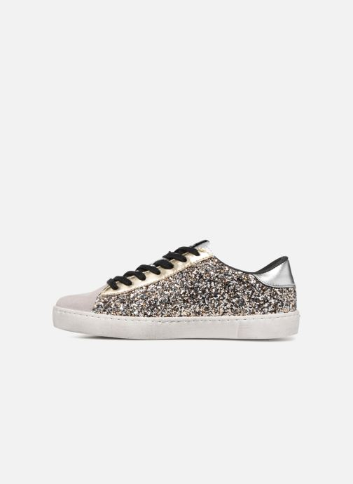 Trainers Victoria Deportivo Glitter Contraste Silver front view
