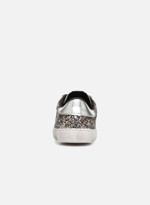 Sneakers Victoria Deportivo Glitter Contraste Zilver rechts