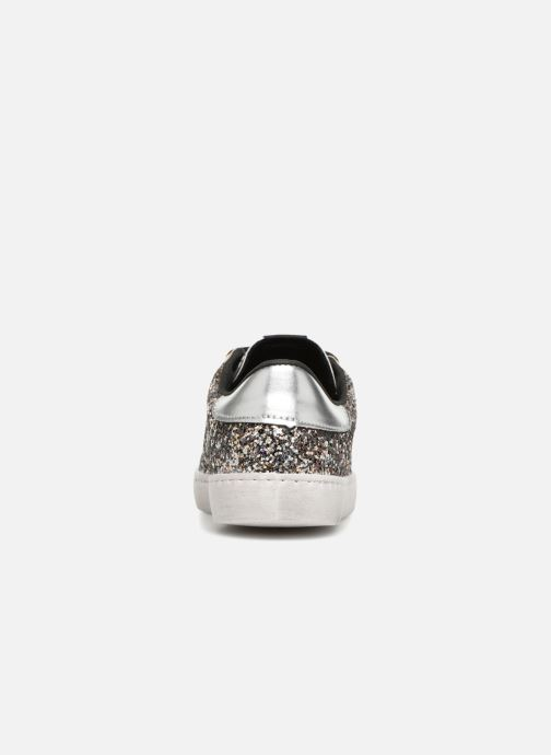 Trainers Victoria Deportivo Glitter Contraste Silver view from the right