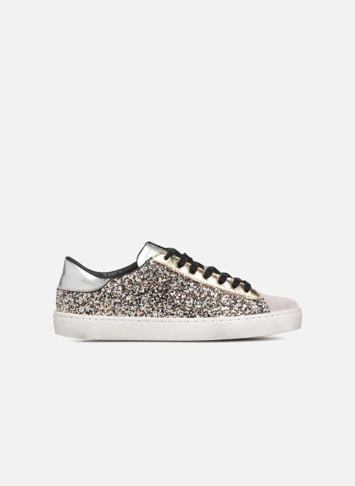 Sneakers Victoria Deportivo Glitter Contraste Zilver achterkant