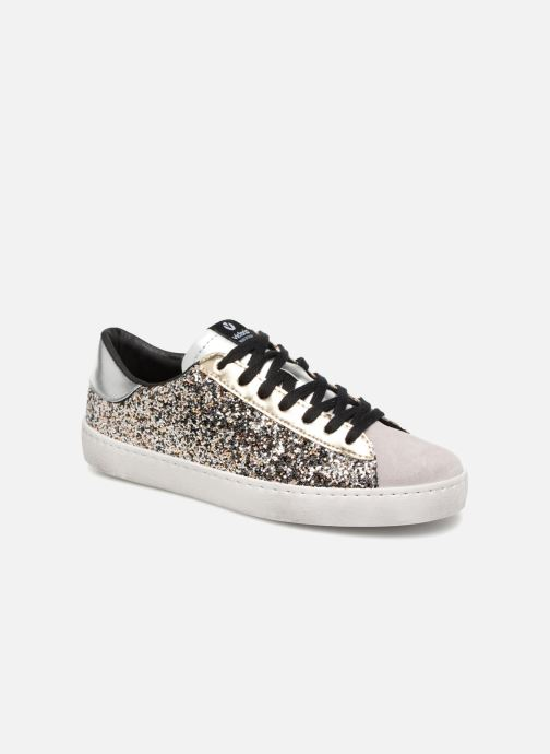 Trainers Victoria Deportivo Glitter Contraste Silver detailed view/ Pair view