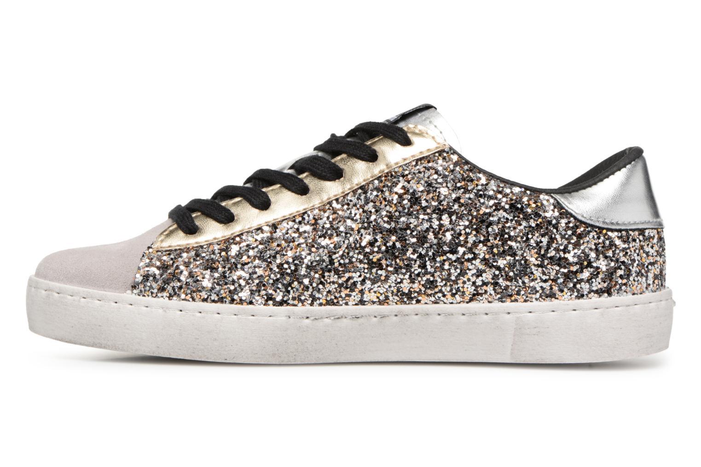 Sneaker Victoria Deportivo Glitter Contraste silber ansicht von vorne