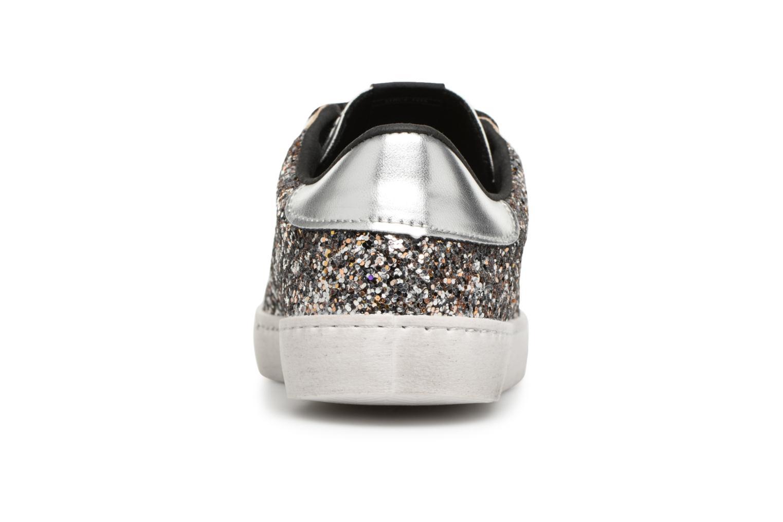 Sneaker Victoria Deportivo Glitter Contraste silber ansicht von rechts