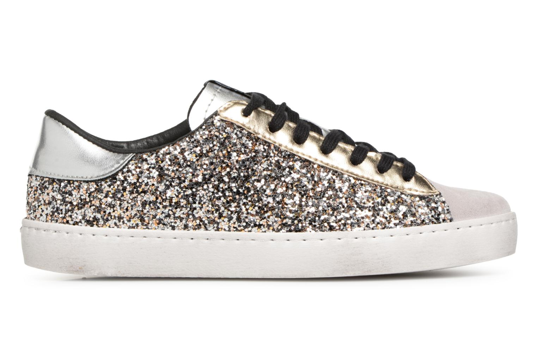 Sneaker Victoria Deportivo Glitter Contraste silber ansicht von hinten