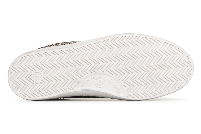 Sneaker Victoria Deportivo Glitter Contraste silber ansicht von oben