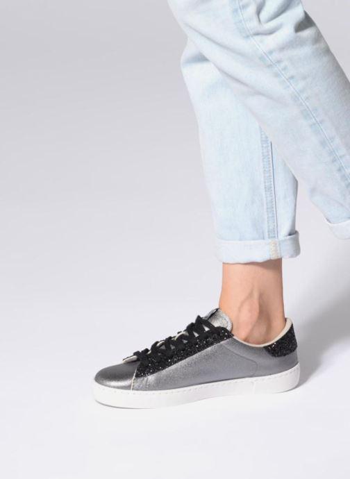 Sneakers Victoria Deportivo Lona Metal/Glitter Zilver onder