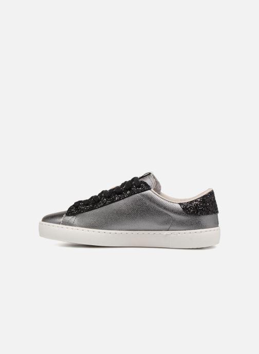 Sneakers Victoria Deportivo Lona Metal/Glitter Zilver voorkant
