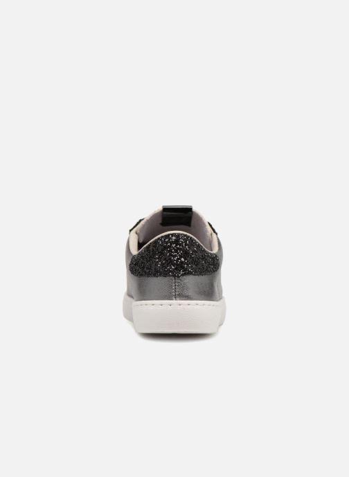 Sneakers Victoria Deportivo Lona Metal/Glitter Zilver rechts