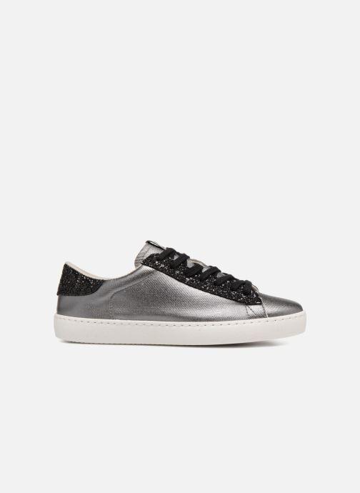 Sneakers Victoria Deportivo Lona Metal/Glitter Zilver achterkant