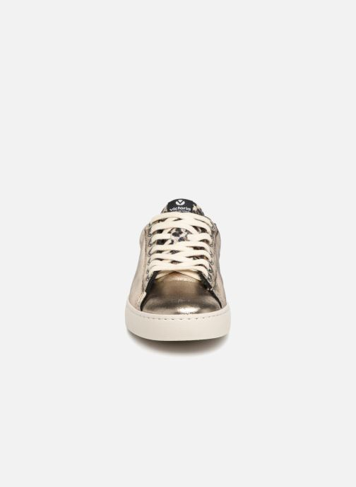 Sneaker Victoria Deportivo Brillo/Leopardo gold/bronze schuhe getragen
