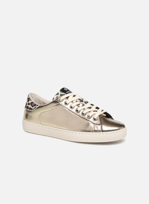 Trainers Victoria Deportivo Brillo/Leopardo Bronze and Gold detailed view/ Pair view