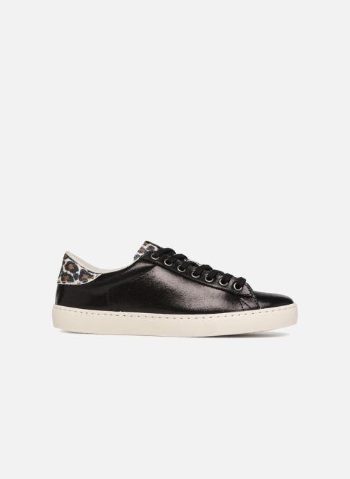 Sneaker Victoria Deportivo Brillo/Leopardo schwarz ansicht von hinten