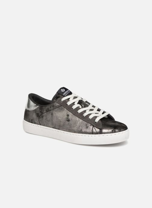 Trainers Victoria Deportivo Terciopelo Metal Silver detailed view/ Pair view