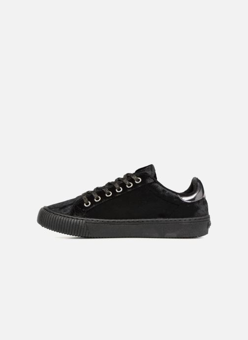 Trainers Victoria Deportivo Terciopelo Black front view