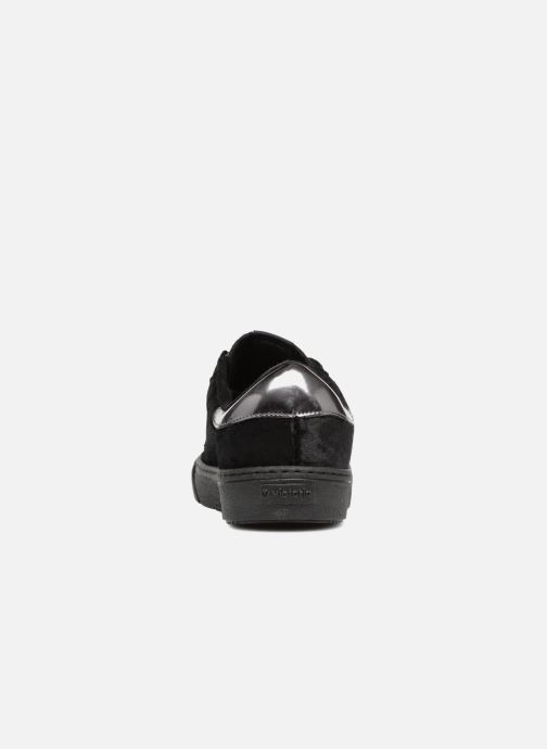Trainers Victoria Deportivo Terciopelo Black view from the right