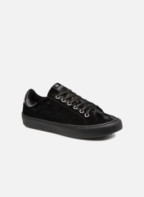 Trainers Victoria Deportivo Terciopelo Black detailed view/ Pair view