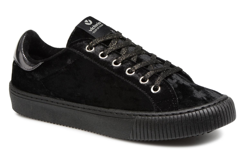 Sneaker Victoria Deportivo Terciopelo schwarz detaillierte ansicht/modell