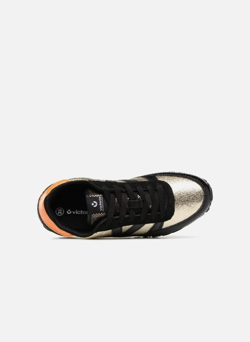 Trainers Victoria Deportivo Ciclista Metal Black view from the left