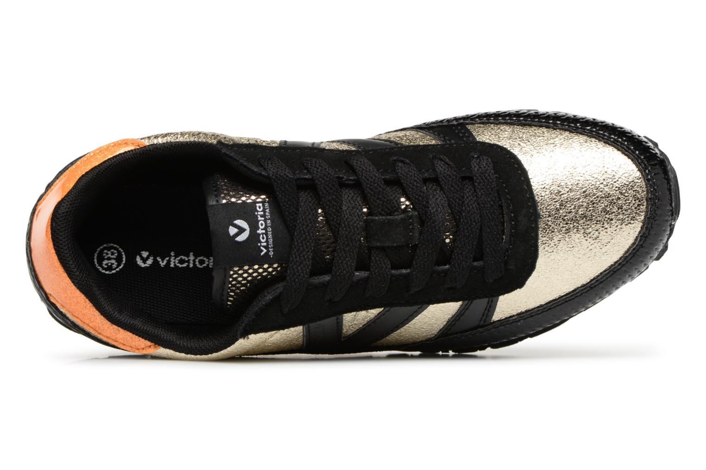 Sneaker Victoria Deportivo Ciclista Metal schwarz ansicht von links