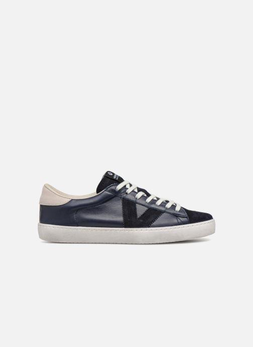 Sneakers Victoria Deportivo Piel/Serraje Blauw achterkant