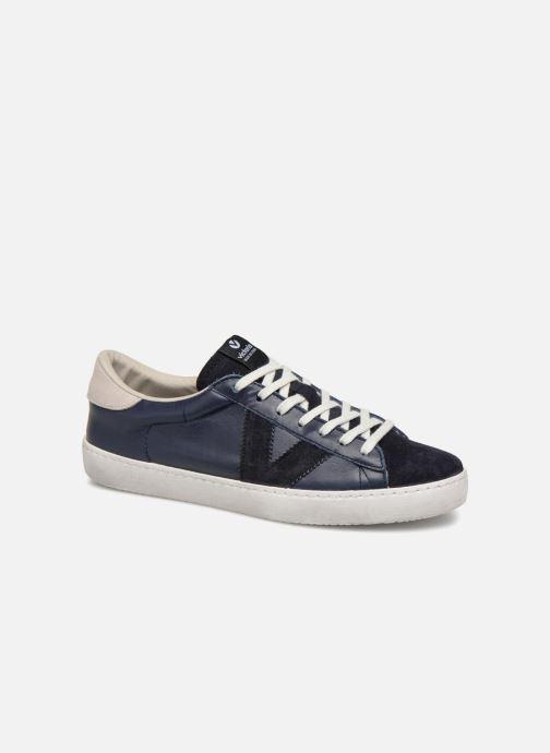 Sneakers Victoria Deportivo Piel/Serraje Blauw detail