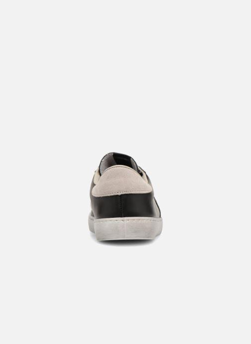 Sneakers Victoria Deportivo Piel/Serraje Zwart rechts