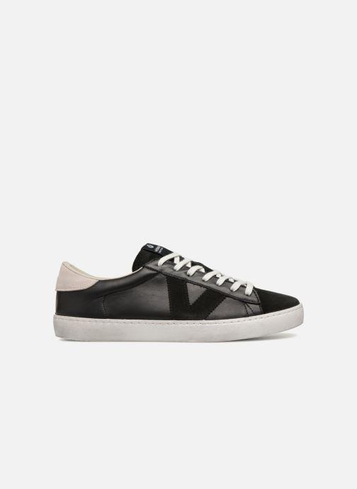 Sneakers Victoria Deportivo Piel/Serraje Nero immagine posteriore