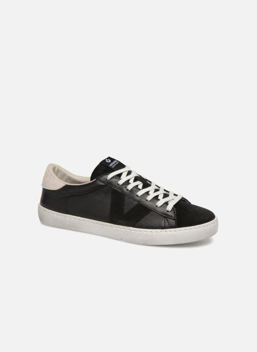 Sneakers Victoria Deportivo Piel/Serraje Zwart detail