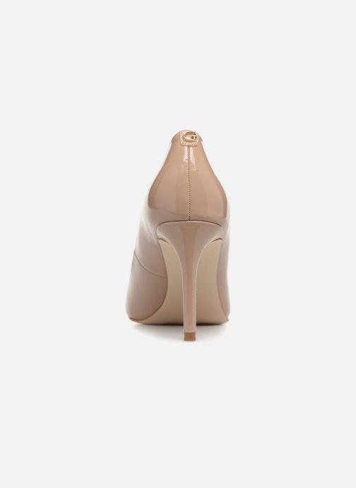 Zapatos de tacón Guess BENNIE8 Beige vista lateral derecha
